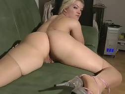 big assed show white