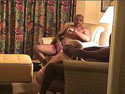 kinky blond wife sofa
