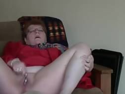 white grandmother red jerks
