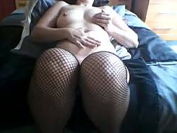 sexy boobed nymph wanking