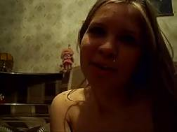 skanky russian amateur blond