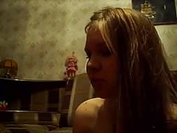 skanky russian amateur blond