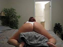 sexy redhead whore humping