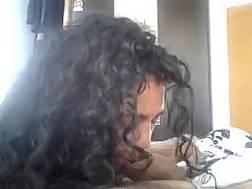 curly kinky mature brunette