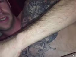 tattooed stud penetrates chick