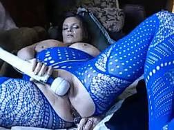 extremely curvy wifey blue