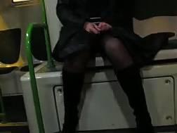 bf wearing stockings flashes