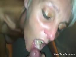 skinny blond mamma masturbates