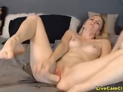 blondie slut works hungry