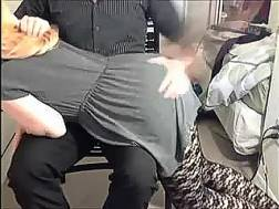 amazing spanking scene redhead