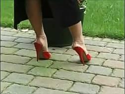 sensual boyfriend teases feet
