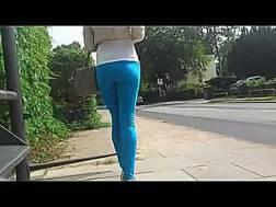 gal perfect legs backside
