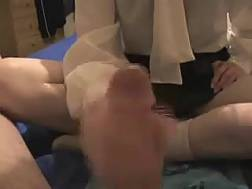 college babe wearing massages