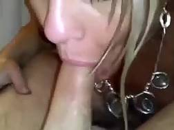 luscious blonde mother drives