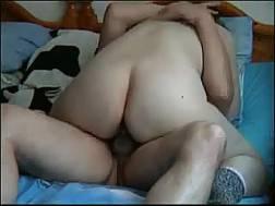 husband fucks hard doggy