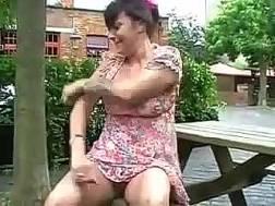 british mature slut exposing