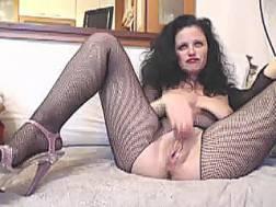 mature slut fishnet stockings