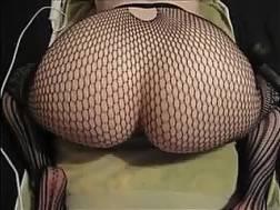hope backside fishnet tights
