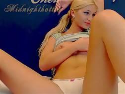 hot blond girl ass