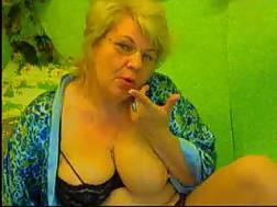 light haired bbw grandma