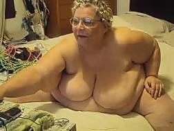 trashy woman glasses shows