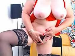 mature bitch hot stockings