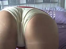 awesome brunette gf shows