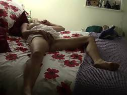wifey moans stroking smooth