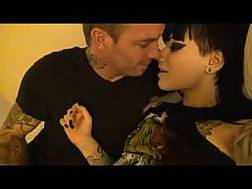 lovely freaky tattooed couple