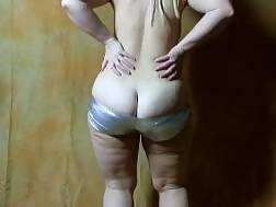 lovely white ass hot