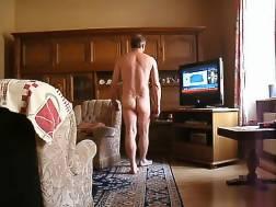 perverted husband around apartment