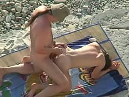 kinky couple nudist beach