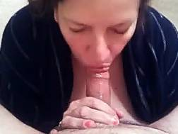 submissive amateur wife sucking