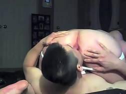 lover eating butt