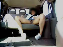 flashing car