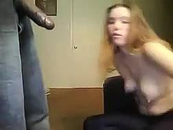 long-haired sweetie blowjob big