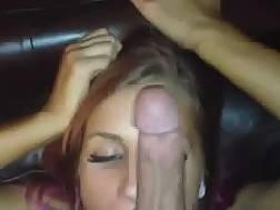 blue eyed queen sucking