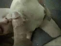 sloppy white whore deepthroats