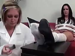 blondie friend enjoys feet