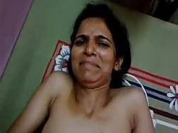 indian mother watches stroking