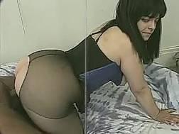 bubble butt gets cunt