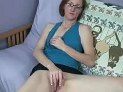 amateur nerdy wife couch