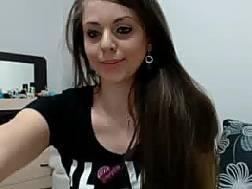 stunning darkhaired teen fabulous