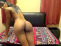 sensual ebony teen shows