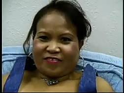 chubby asian mom gets
