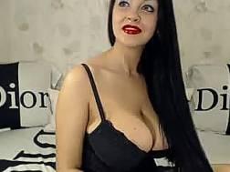 european boobed brunette mamma
