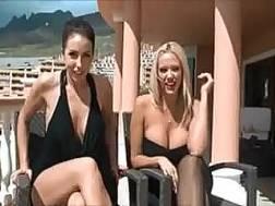 gorgeous sassy bitches balcony