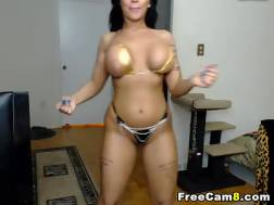 huge breasts latina shakes