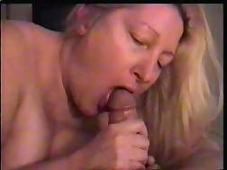 fat mother blowing prick
