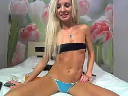 hottest amateur skinny blond